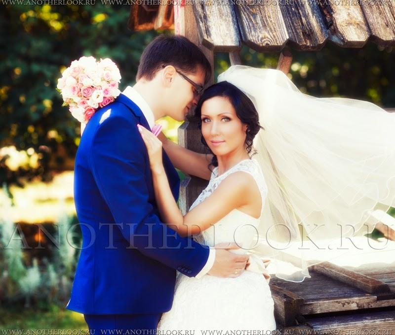 Свадебная фотосессия у колодца коломенское