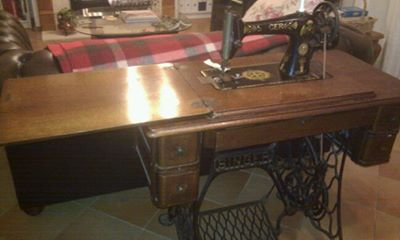 Treadle machine restoration sewing singer How to
