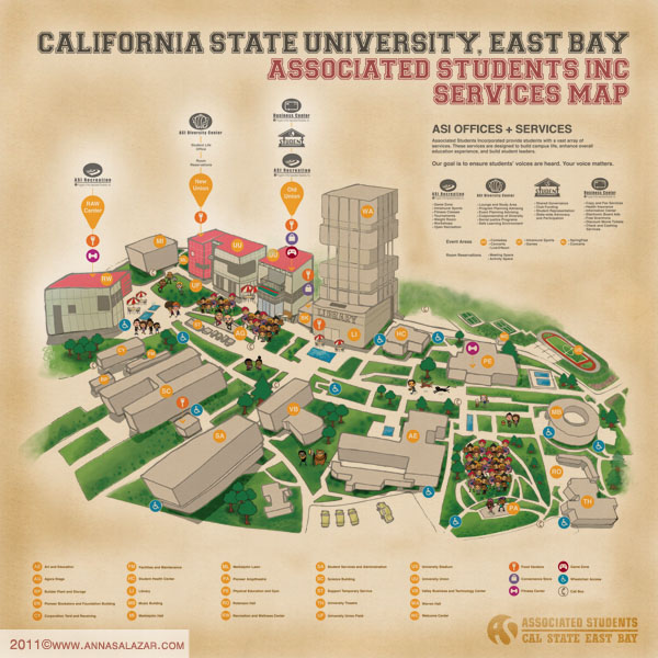 yummyberries update csueb campus map