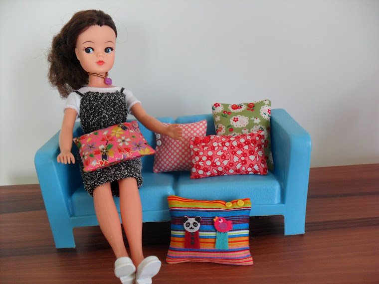 Sindy and Handmade Cushions