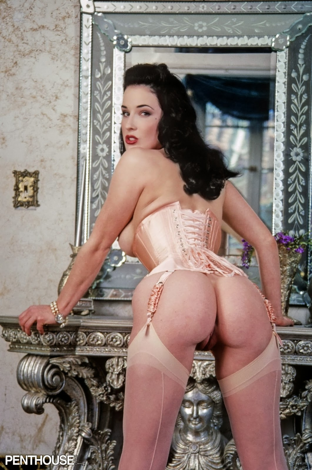 Remarkable, very Dita von teese lesbian sex video talented