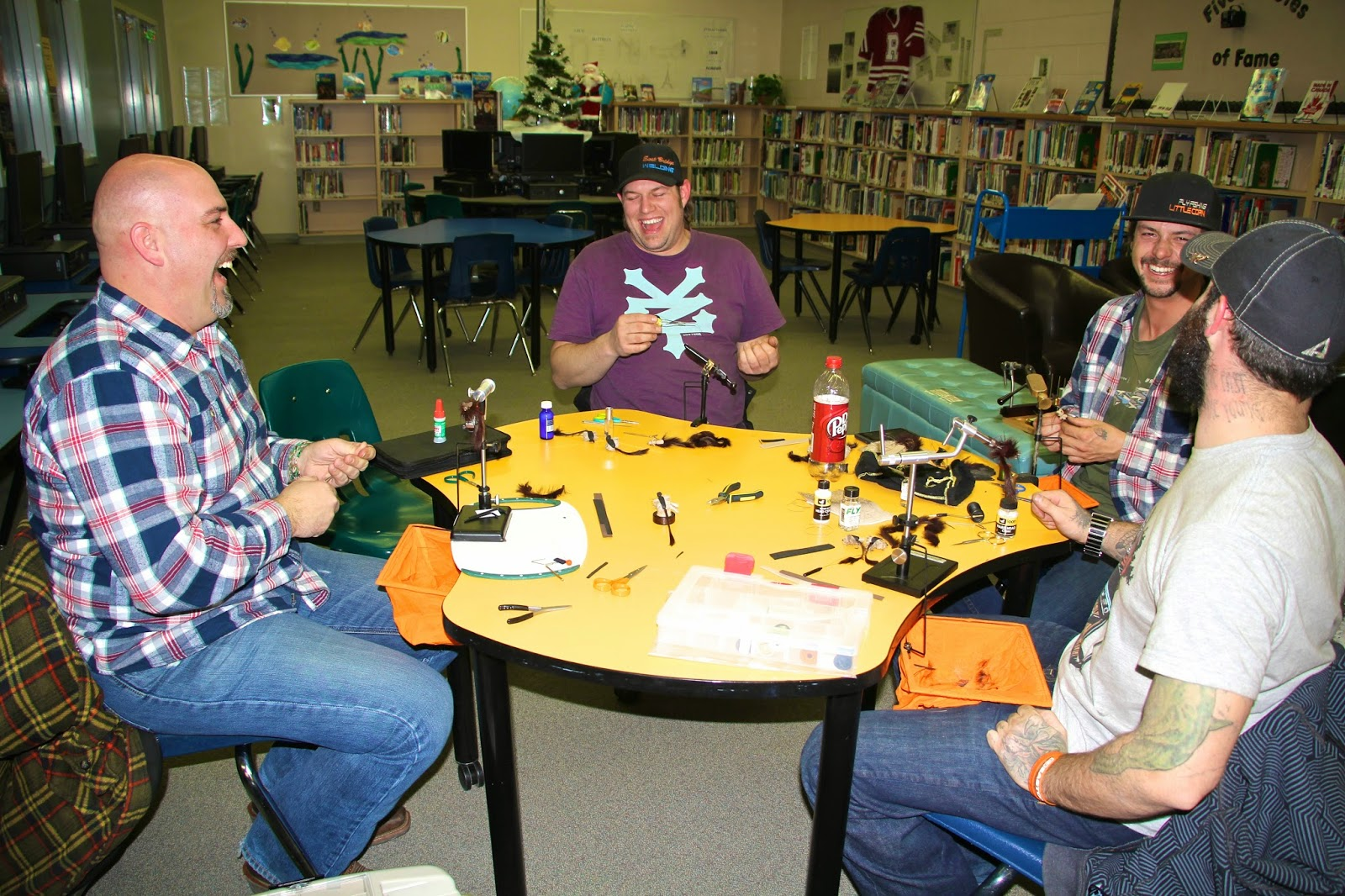 Central alberta fly tying club mouse patterns for Fly fishing classes near me