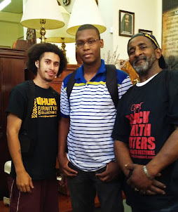 Uhuru Furniture Welcomes Jamal, grandson of Mumia Abu Jamal!