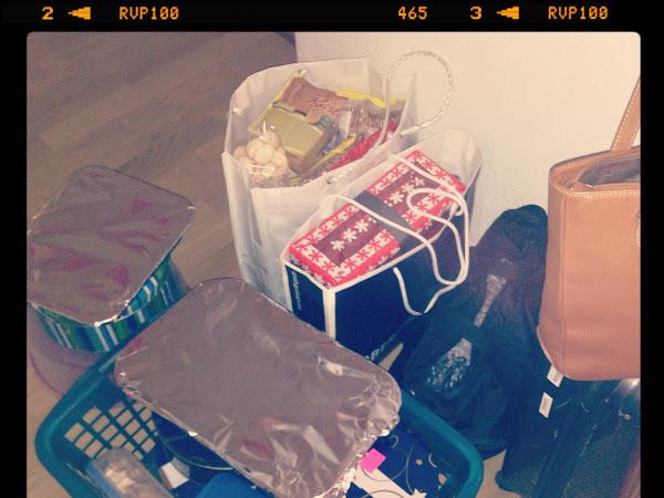 Ich packe meinen (glutenfreien) Koffer.