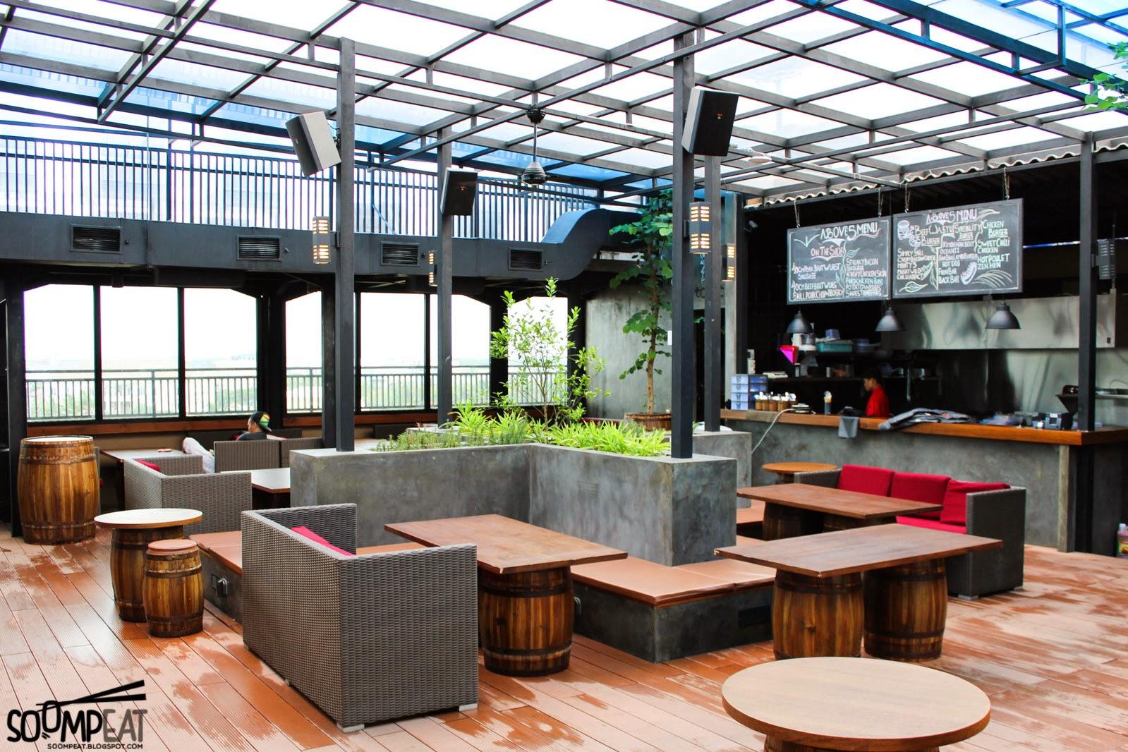 Above 5 sky bar pantai indah kapuk jakarta soompeat for Design interior di jakarta