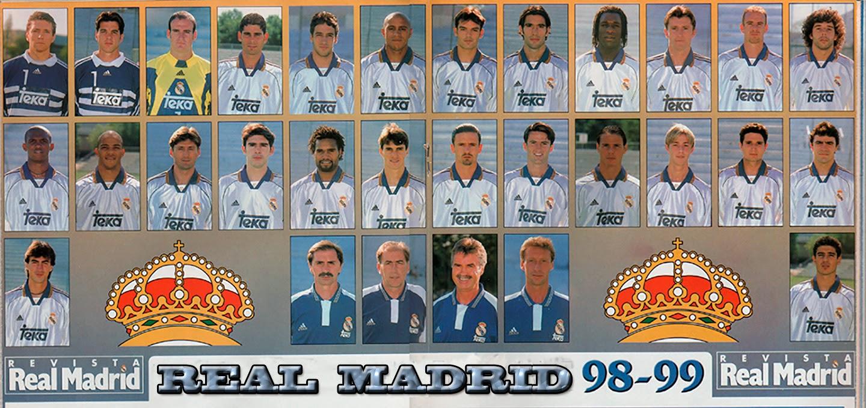 Real madrid tv plantilla del real madrid 1998 99 for Real madrid tv