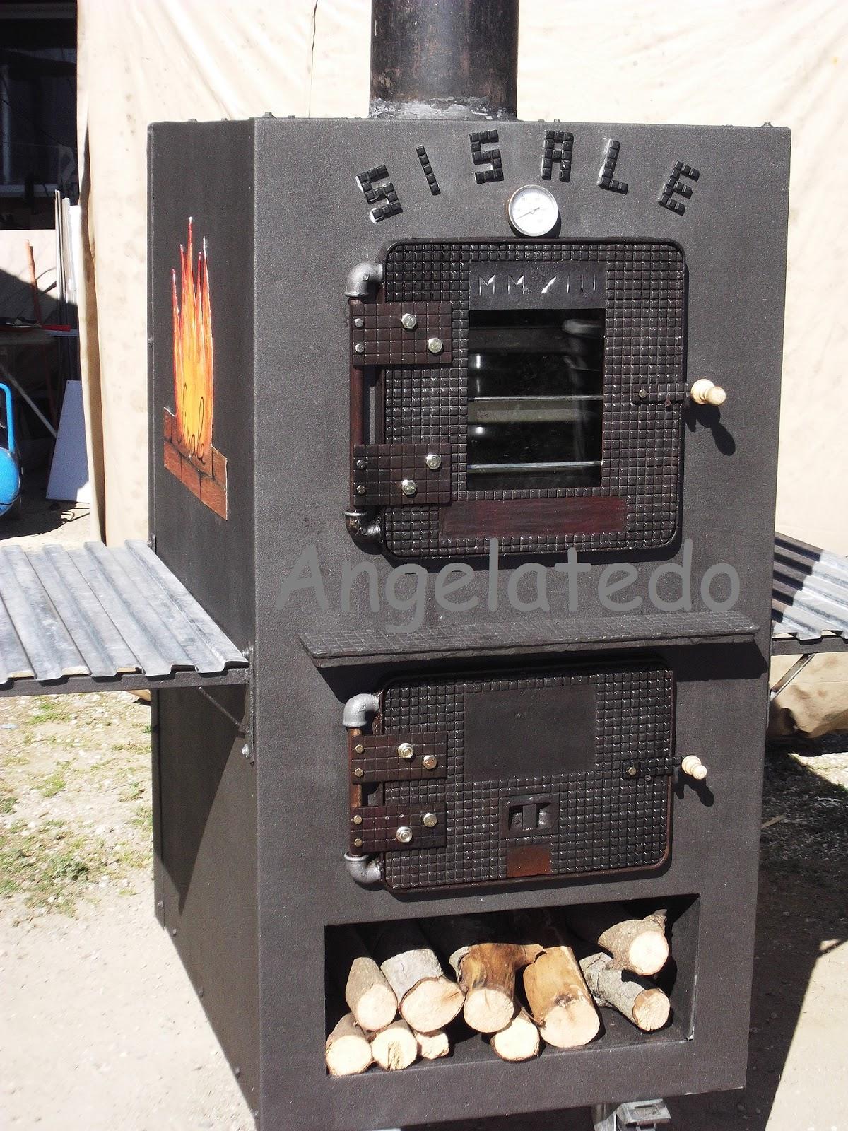 Construcci n de horno de le a horno sisale angelatedo - Horno casero de lena ...