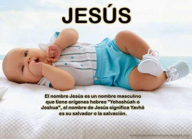 QUE SIGNIFICA EL NOMBRE JESÚS