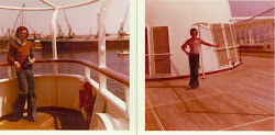 ME ON BOARD GUGLIELMO MARCONI IN 1976