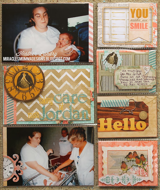 Pocket Page Protector_Special Needs Baby_Scrapbook Layout