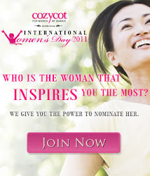 Supporting Friend of Cozycot International Women's Day 2011