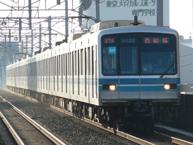 東京メトロ東西線 西船橋行き1 05系LED
