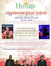 Appalachian Music Fest Flyer