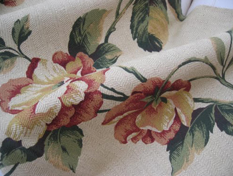 Espacio style telas as vestimos nuestro hogar - Telas estampadas para cortinas ...