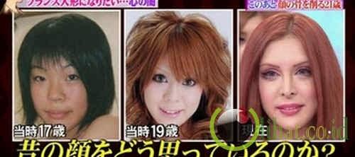 Transformasi Wajahnya