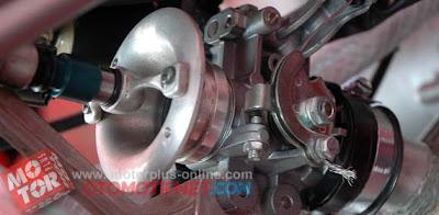 injektor   throttle body supra x 125