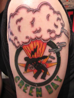 Green Day Tattoo Design Picture Gallery - Green Day Tattoo Ideas