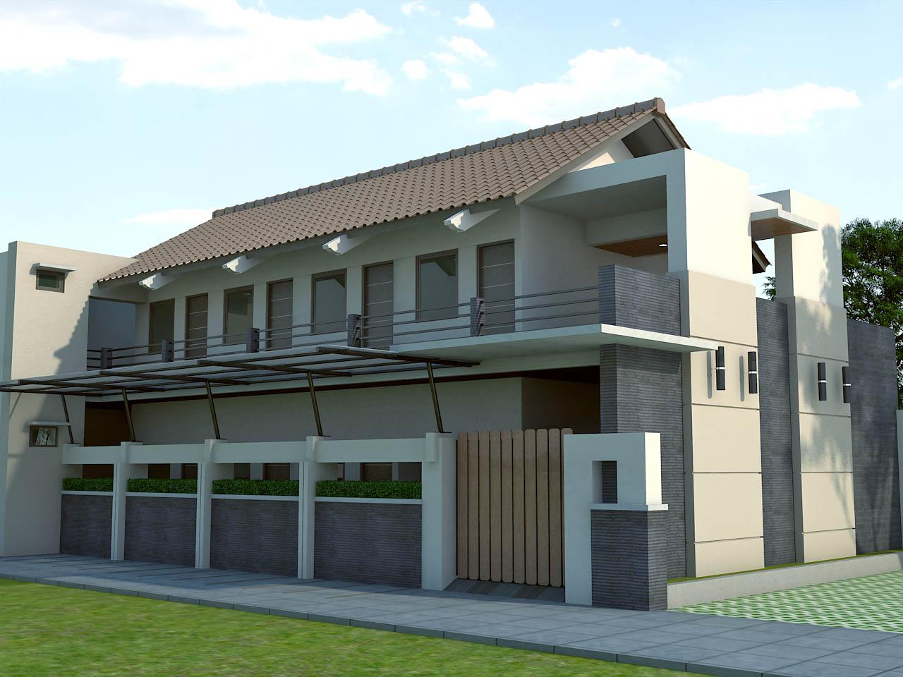 Design+rumah+kos+kosan