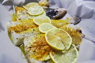 Cytrynowy dorsz z pieca