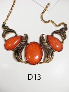 kalung aksesoris wanita d13