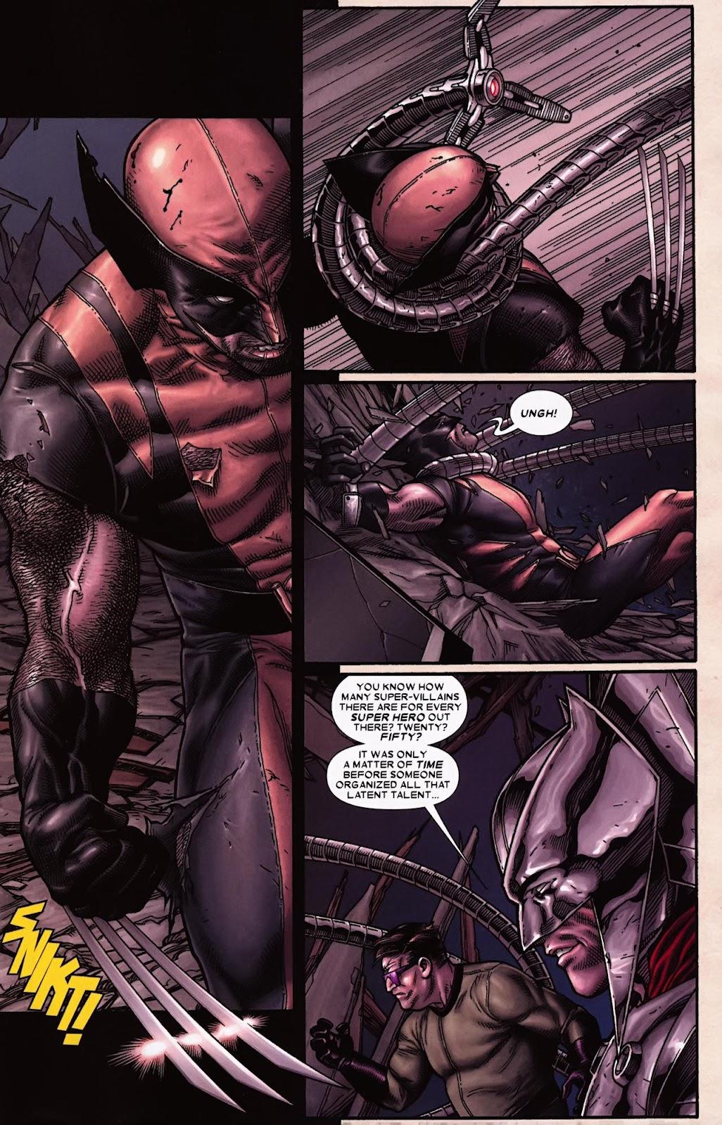 Read online Wolverine (2003) comic -  Issue #70 - 6