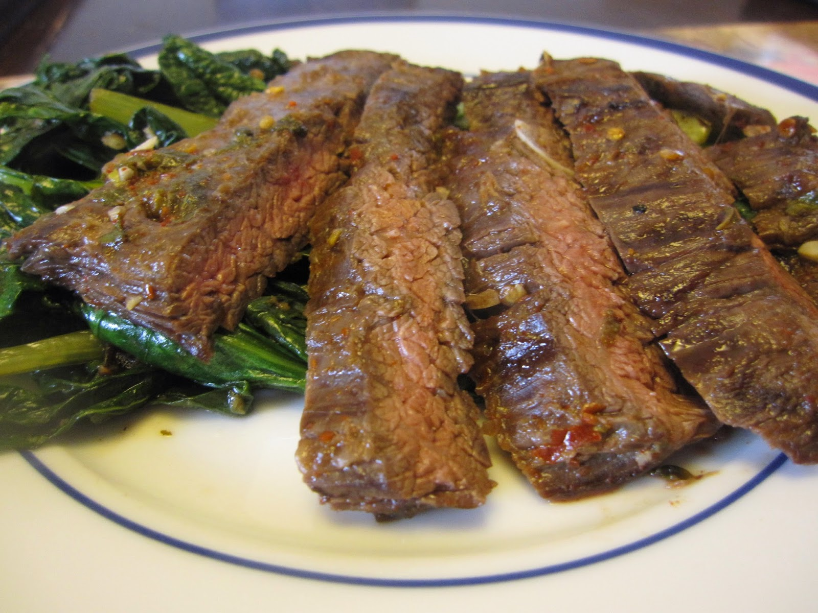 Spicy Lime Marinated Flank Steak - Recipes4EveryKitchen