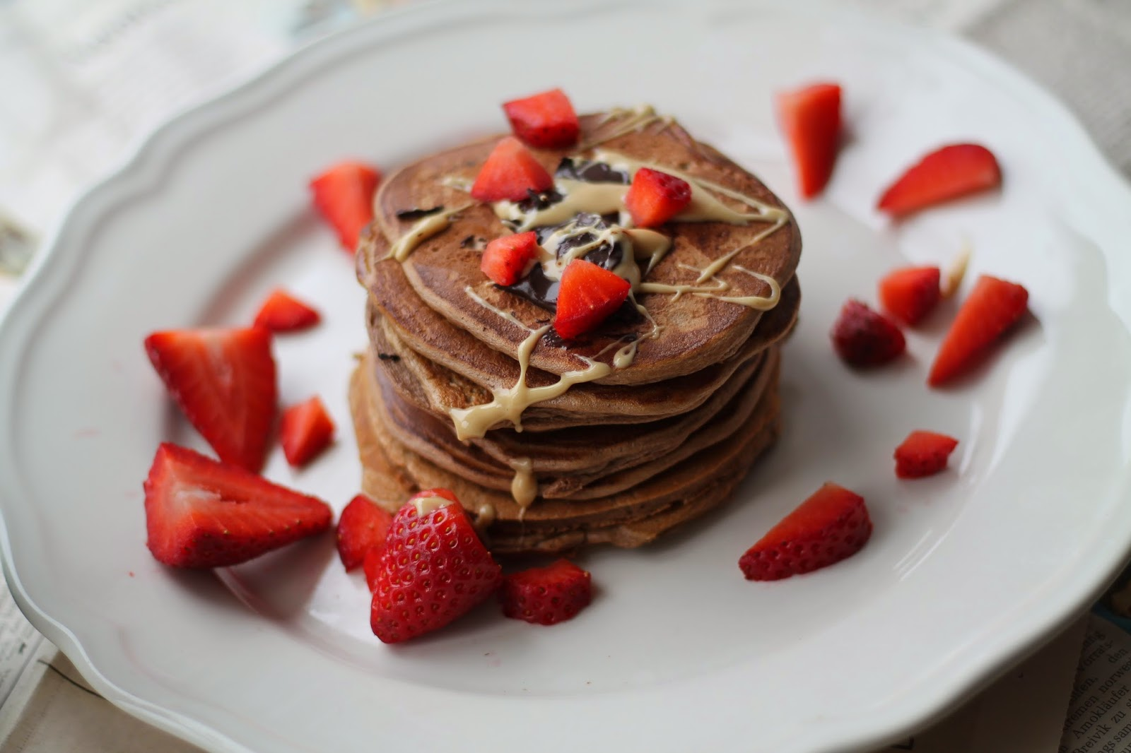 Pancakes Rezept Recipe / #svetlanakocht / Gesunde Ernährung / clean eating / Heatlyh Recipe / gesundes Rezept für Pancakes
