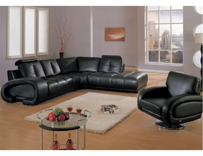 Muebles De Sala De Color Negro Black Living Room