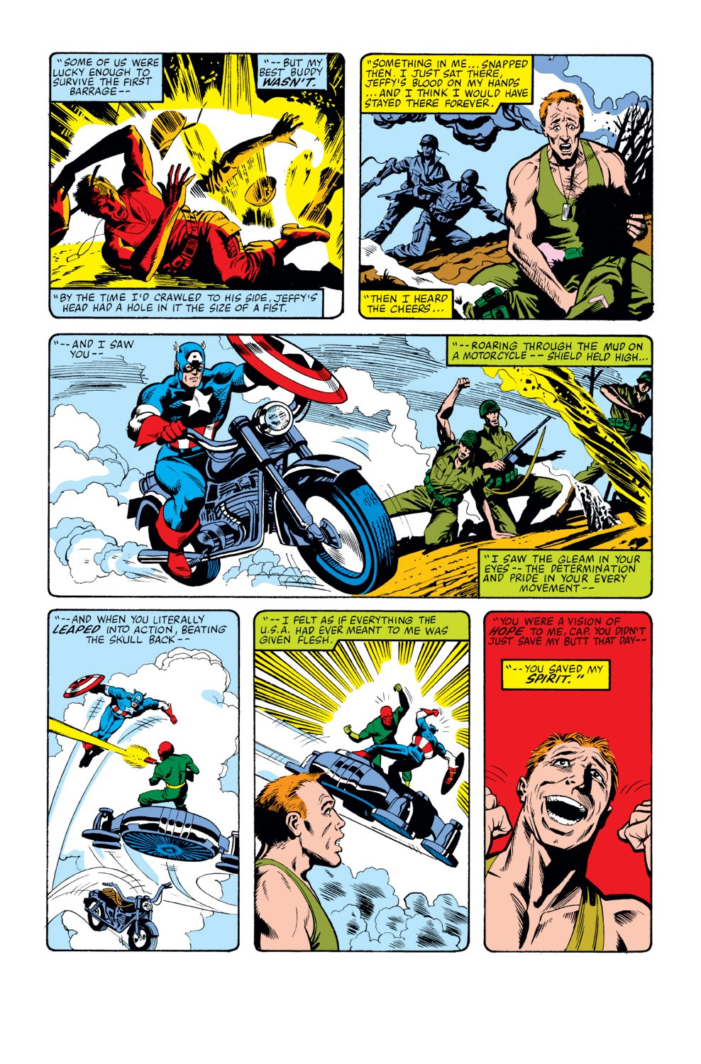 Captain America (1968) Issue #262 #177 - English 6