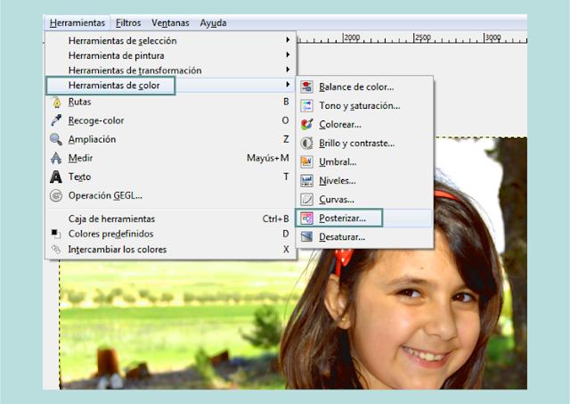 Modificar los Colores de una Foto en GIMP