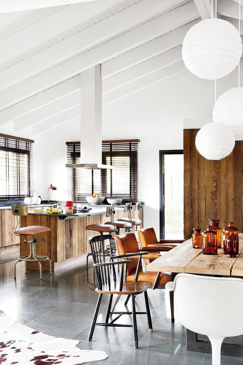 Un ecl ctico loft en a coru a blog decoraci n con tu for Cocina unida a salon