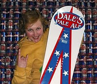 Oskar Blues Snowboard