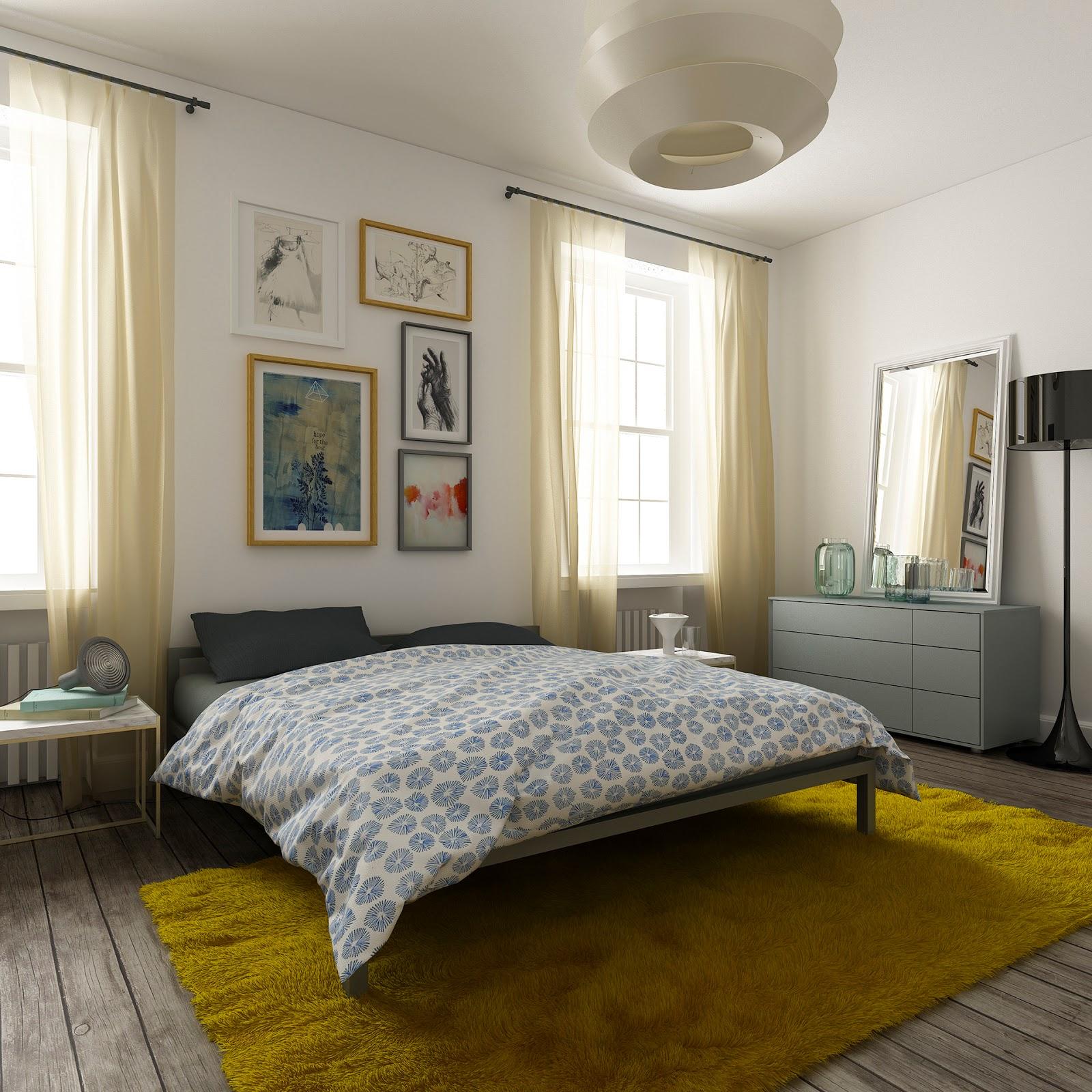Fredde tonalità per l'appartamento di Riga firmato Filippo Carandini  ARC ART blog by Daniele Drigo