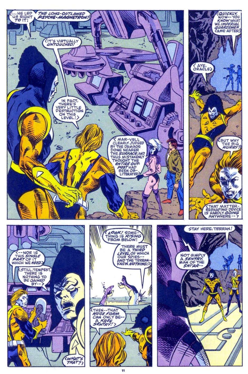 Captain America (1968) Issue #398b #332 - English 9