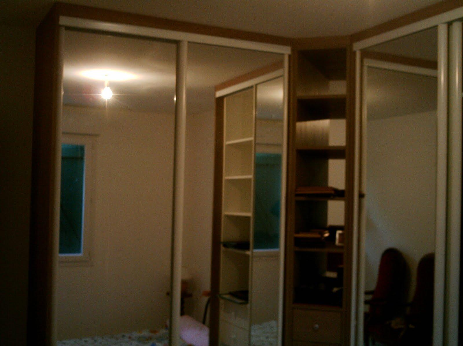 Fabriquer un placard avec porte coulissante fashion designs for Chambre a coucher 6 portes