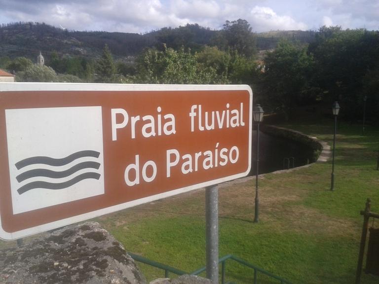 Placas Informação Praia Fluvial do Paraíso