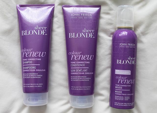 John Frieda Sheer Blonde Colour Renew
