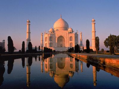 El azote de los famosos taj mahal monumento al amor for Architecture inde