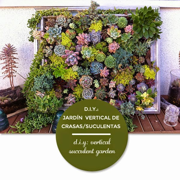 El paso a paso de un jard n vertical - Como hacer un jardin vertical de interior ...