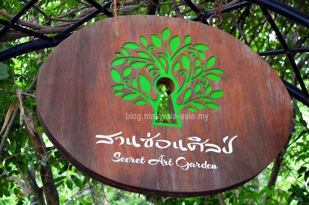 Entrance to the Secret Art Garden