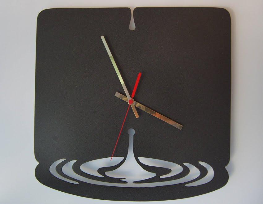 Relógio Quartz Pingos 40x40,5cm