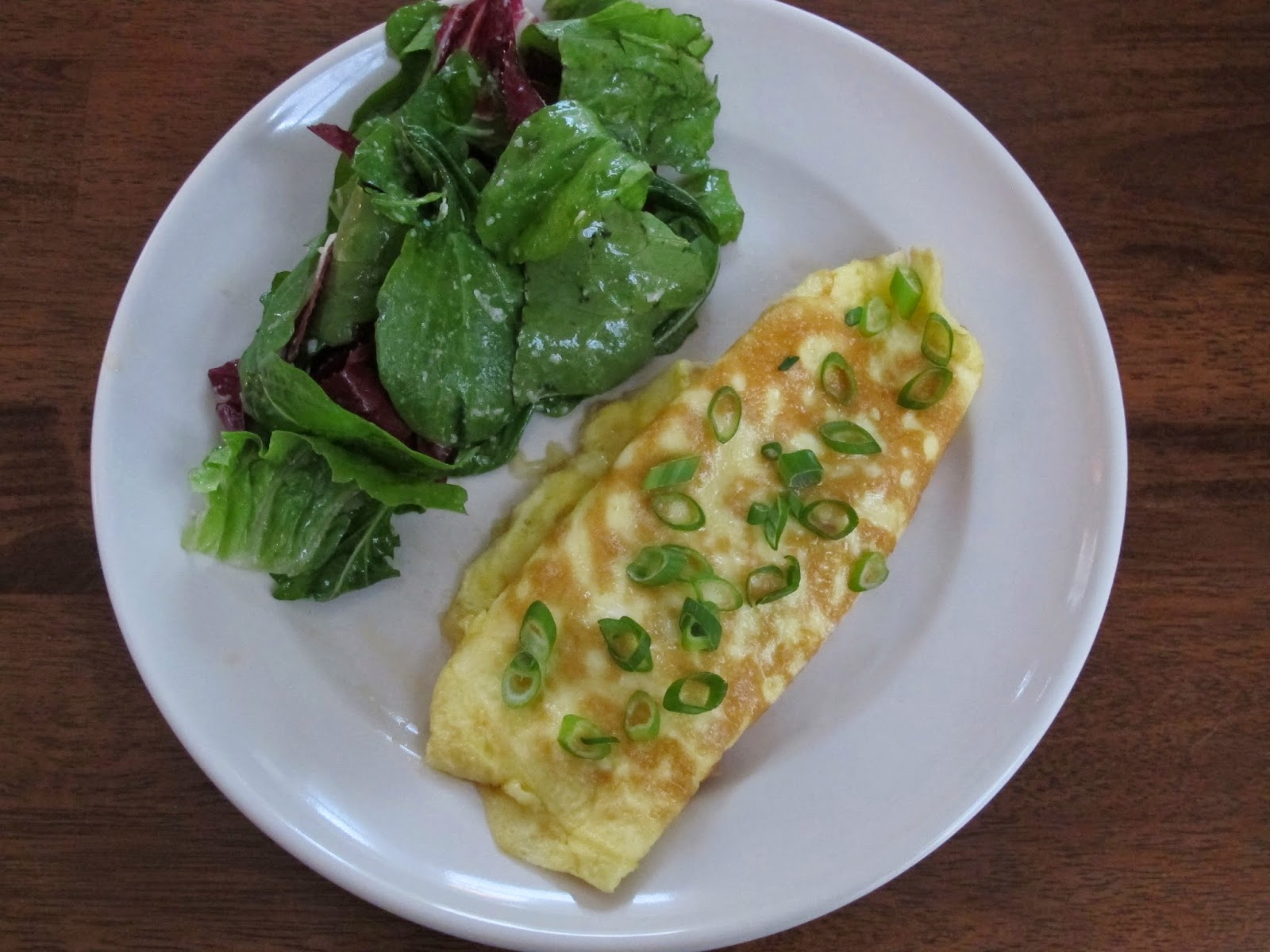 Ham and Gruyere Cheese Omelet