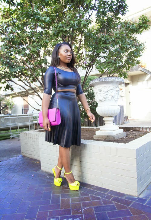 http://www.chloehascurves.com/reviews-blog/2014/9/25/faux-leather-top-x-pleated-skirt