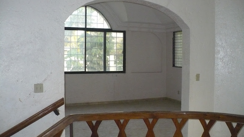 The upstairs boast a spacious floorplan as well. title=