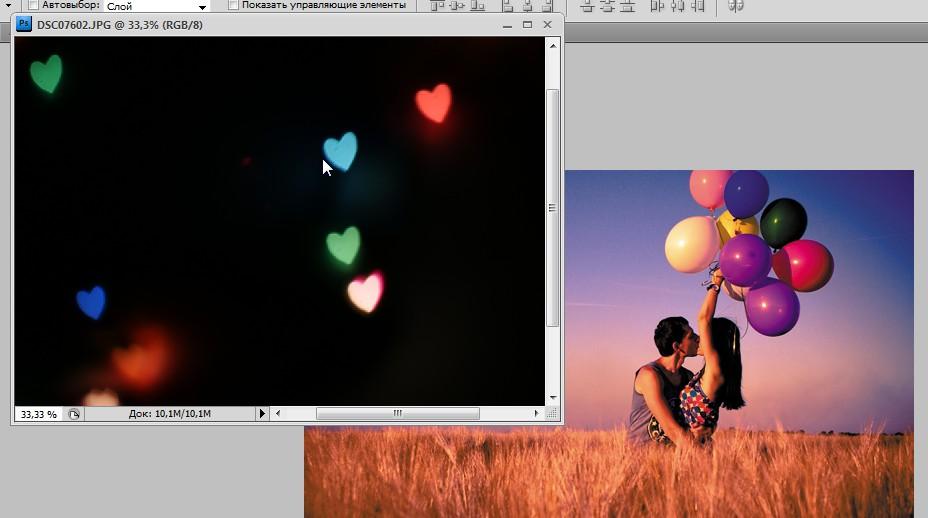 скачать текстуры блики для фотошопа: