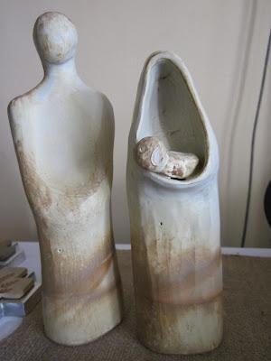 Pesebre Ceramica Gres Santiago Chile