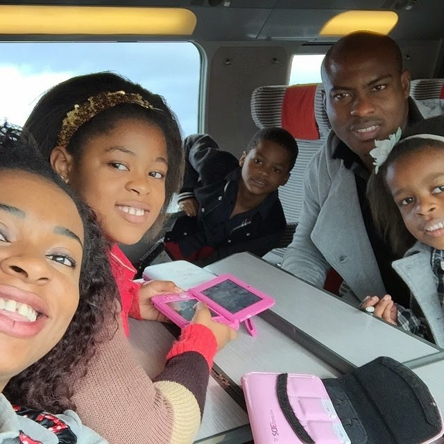 Photos: Vincent Enyeama Spends Quality Time With His Lovely Family