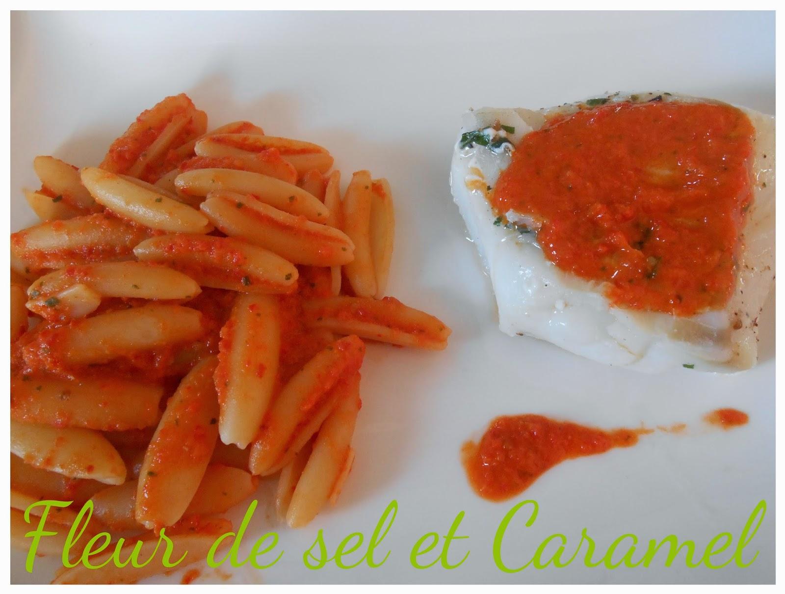 Crème de poivrons, tomates et parmesan