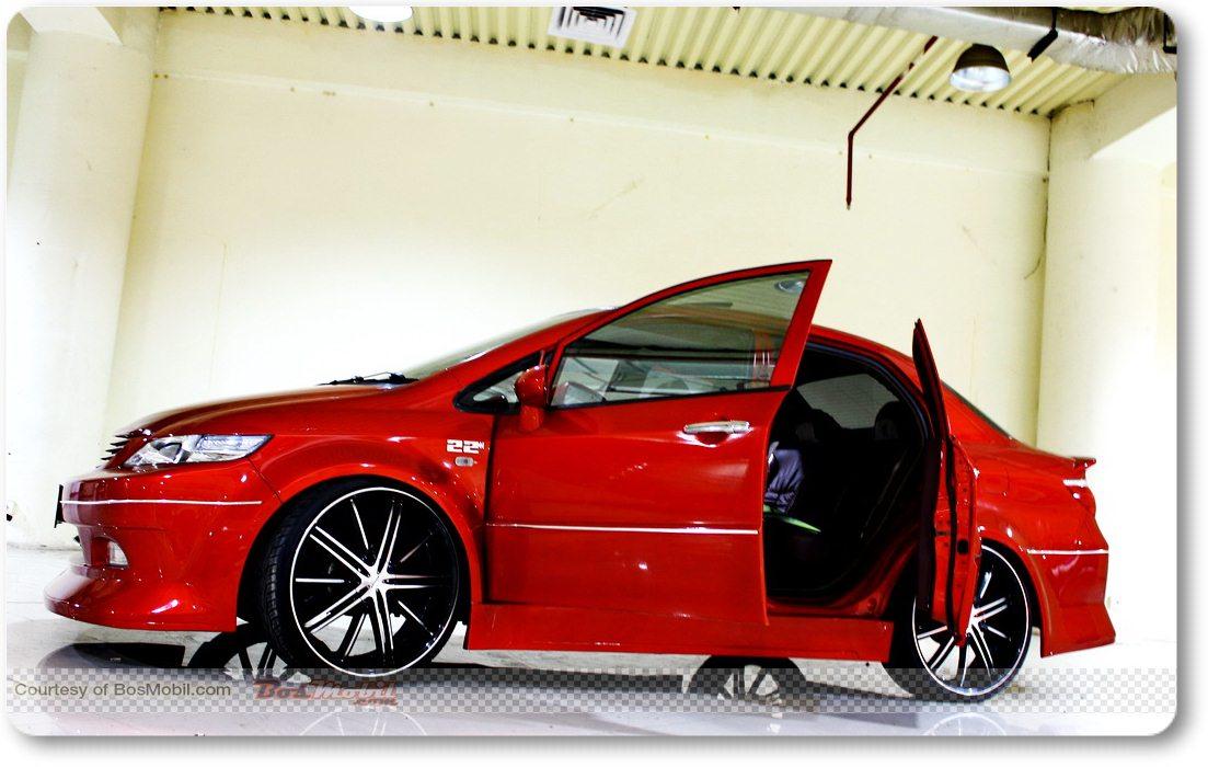 Hasil Garang Modifikasi Honda City Terbaru  Mobil Modifikasi 2017