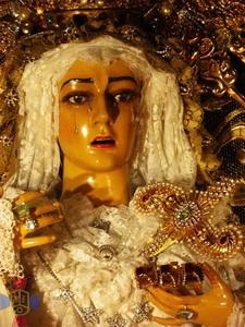 Sábado Santo - Virgen de las Angustias - Templo San Francisco